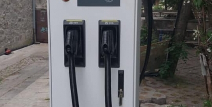 EV charging station in the town of Sozopol